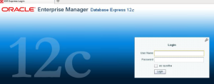 12c oracle express